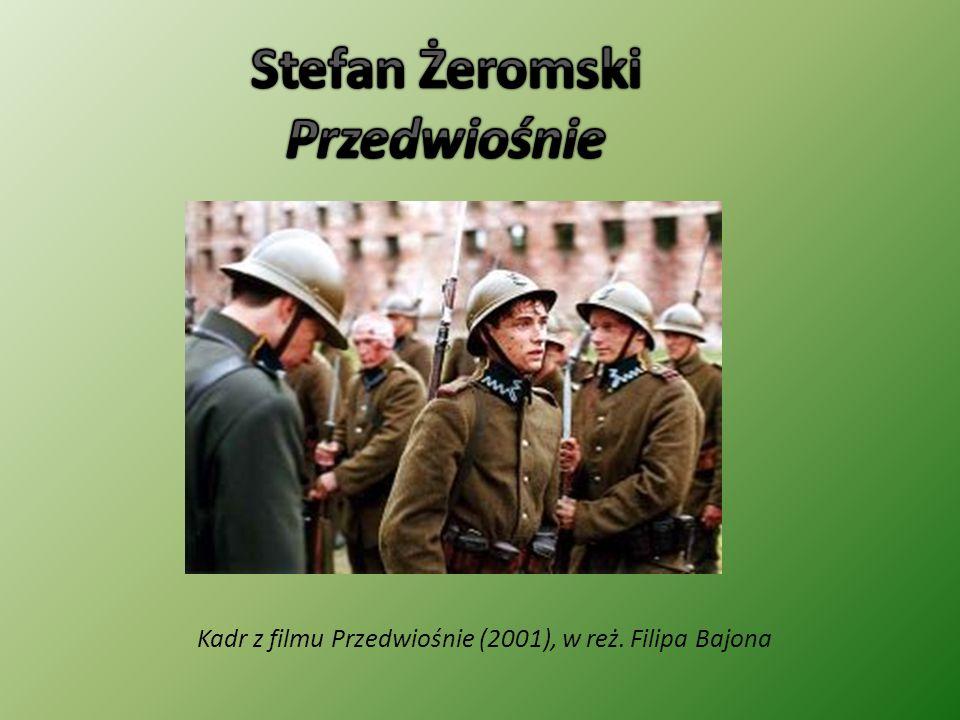 Kadr z filmu Przedwiośnie (2001), w reż. Filipa Bajona