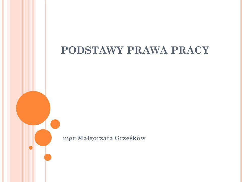 mgr Małgorzata Grześków
