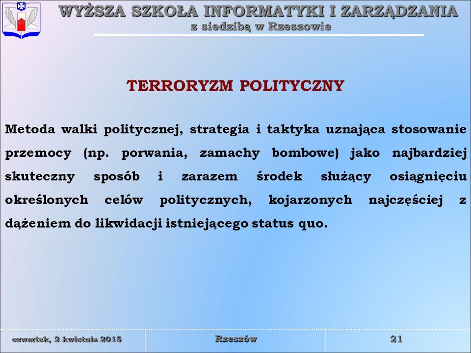 TERRORYZM POLITYCZNY