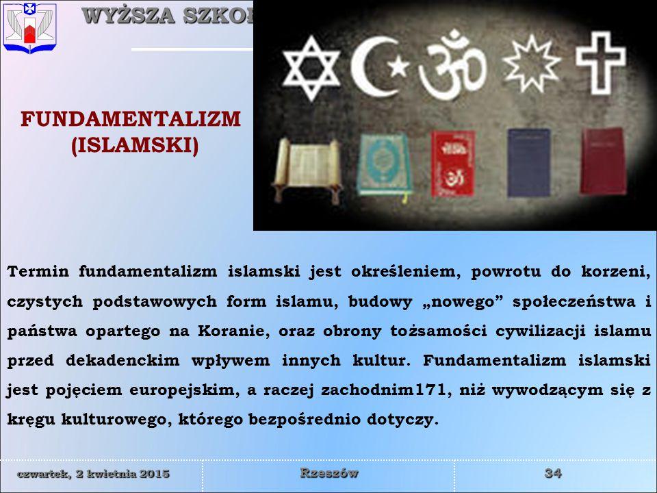 FUNDAMENTALIZM (ISLAMSKI)