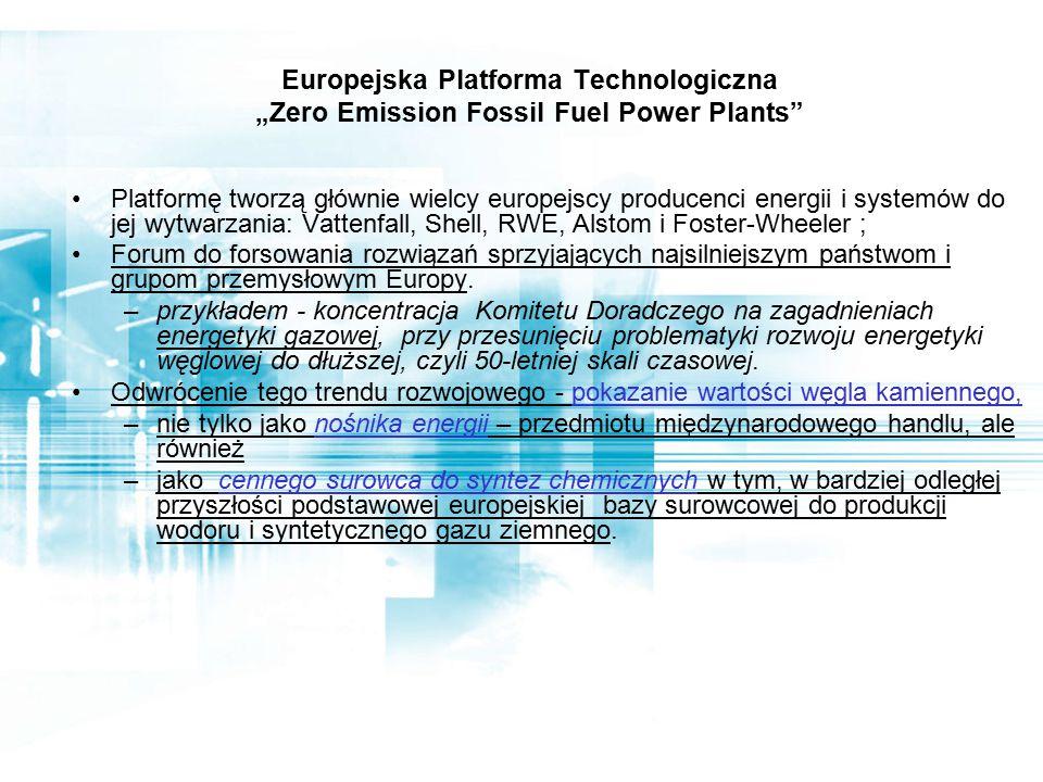 Europejskie kierunki prac