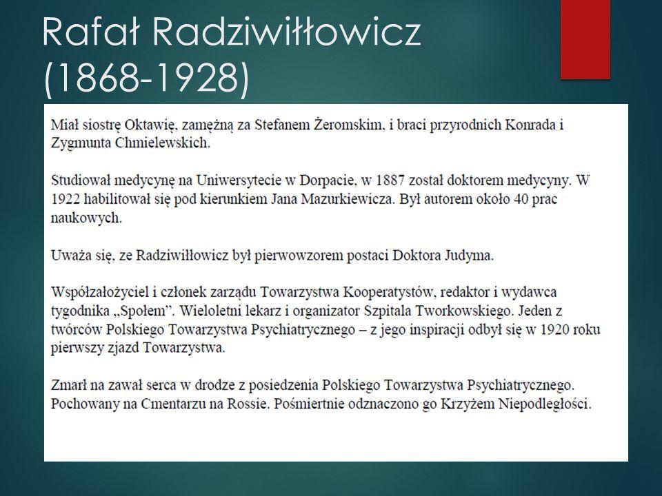 Rafał Radziwiłłowicz (1868-1928)
