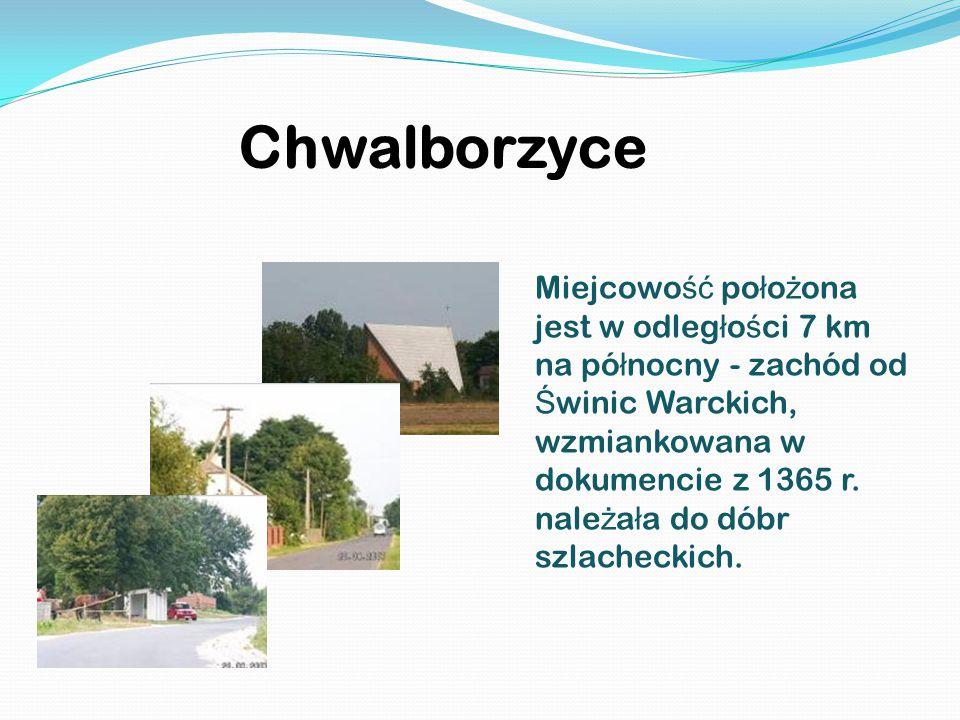Chwalborzyce