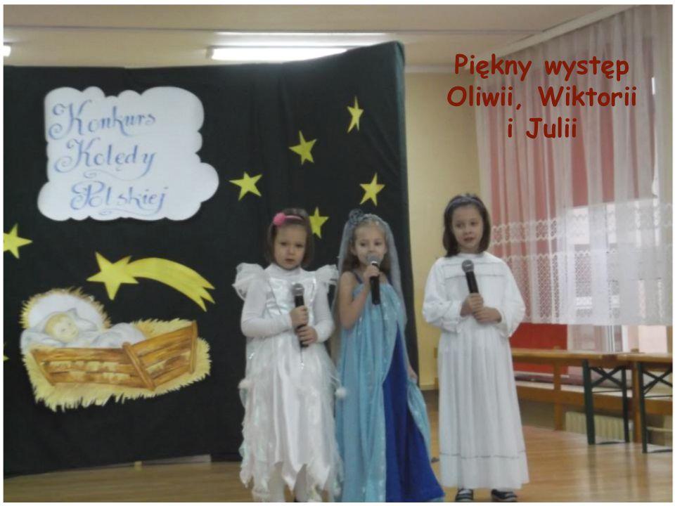 Piękny występ Oliwii, Wiktorii