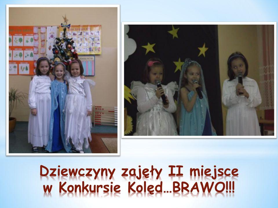 Dziewczyny zajęły II miejsce w Konkursie Kolęd…BRAWO!!!