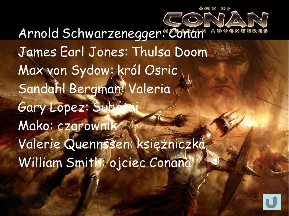 Arnold Schwarzenegger: Conan