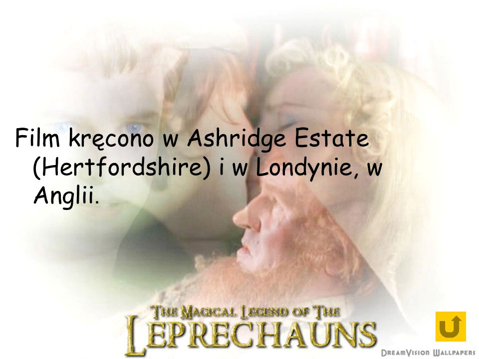 Film kręcono w Ashridge Estate (Hertfordshire) i w Londynie, w Anglii.