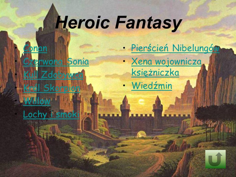 Heroic Fantasy Conan Czerwona Sonia Kull Zdobywca Król Skorpion Willow