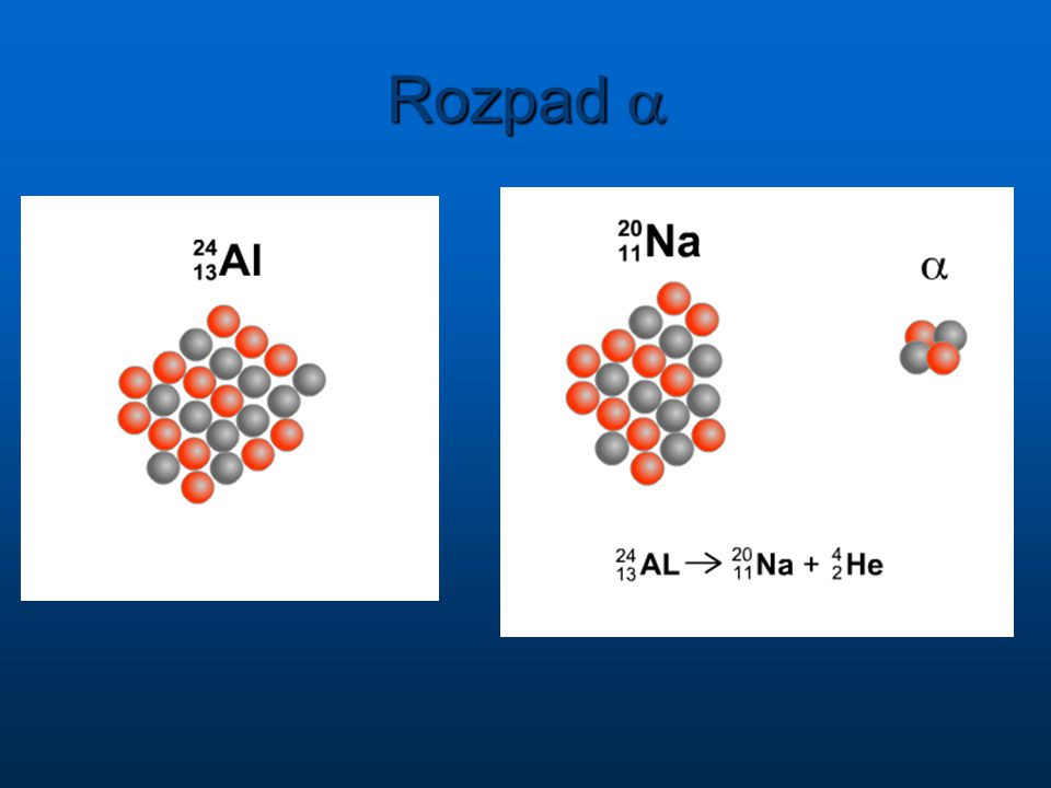 Rozpad a