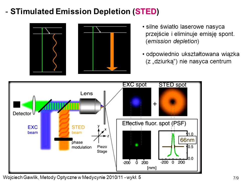 STimulated Emission Depletion (STED)