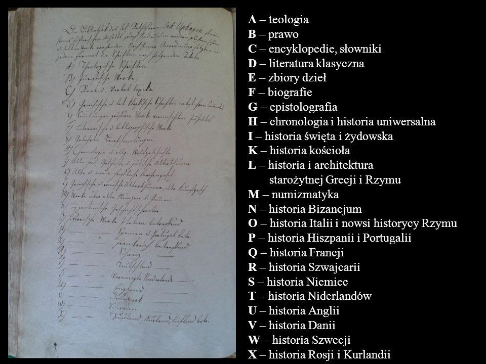Y – historia Węgier Z – historia Prus. AA – historia Gdańska. BB – historia Polski. CC – historia Turcji i Azji.
