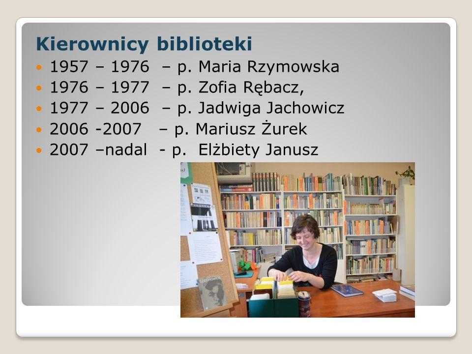 Kierownicy biblioteki