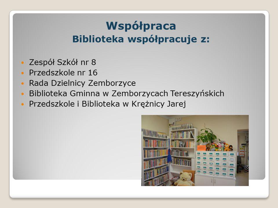 Biblioteka współpracuje z: