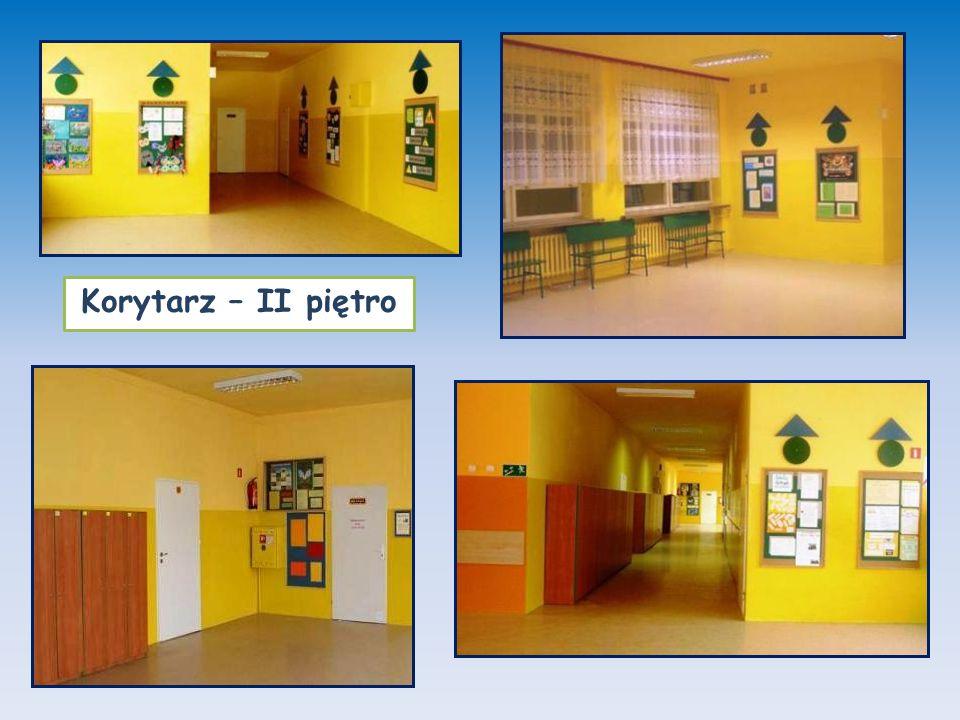 Korytarz – II piętro