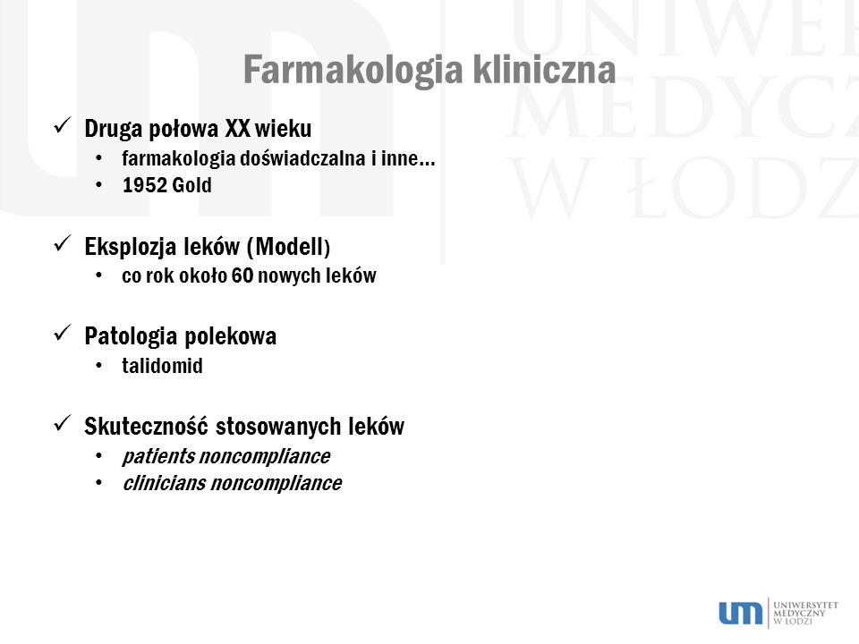 Farmakologia kliniczna