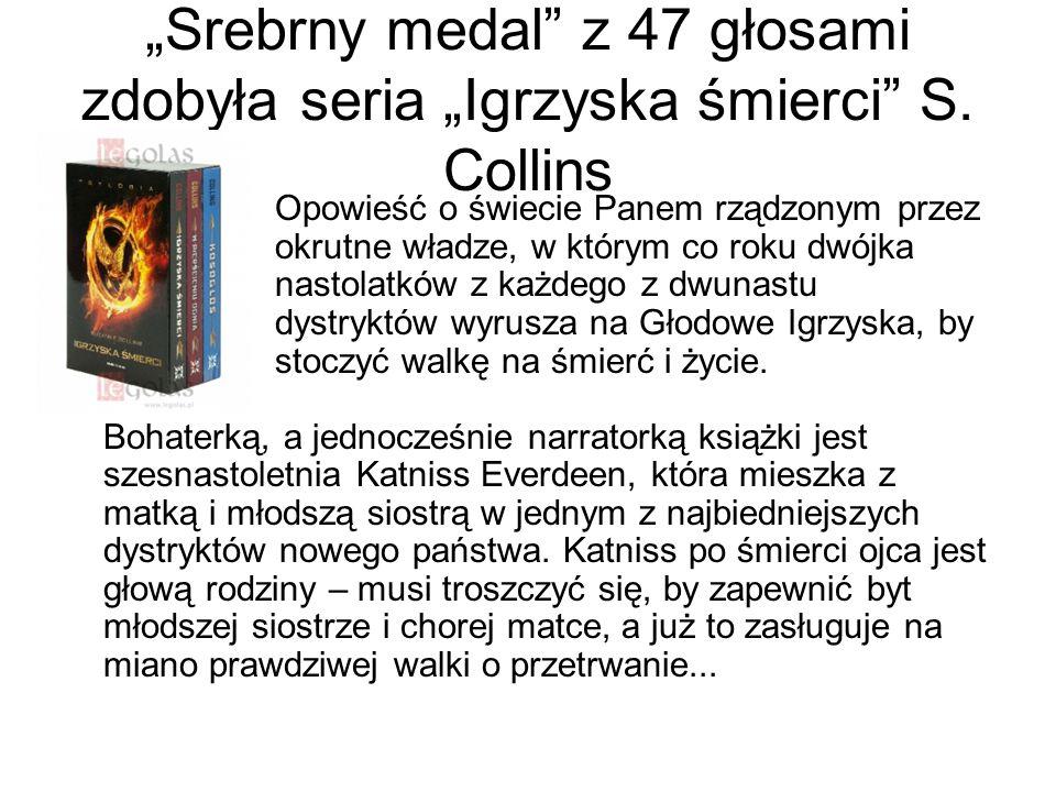 """""""Srebrny medal z 47 głosami zdobyła seria """"Igrzyska śmierci S"""