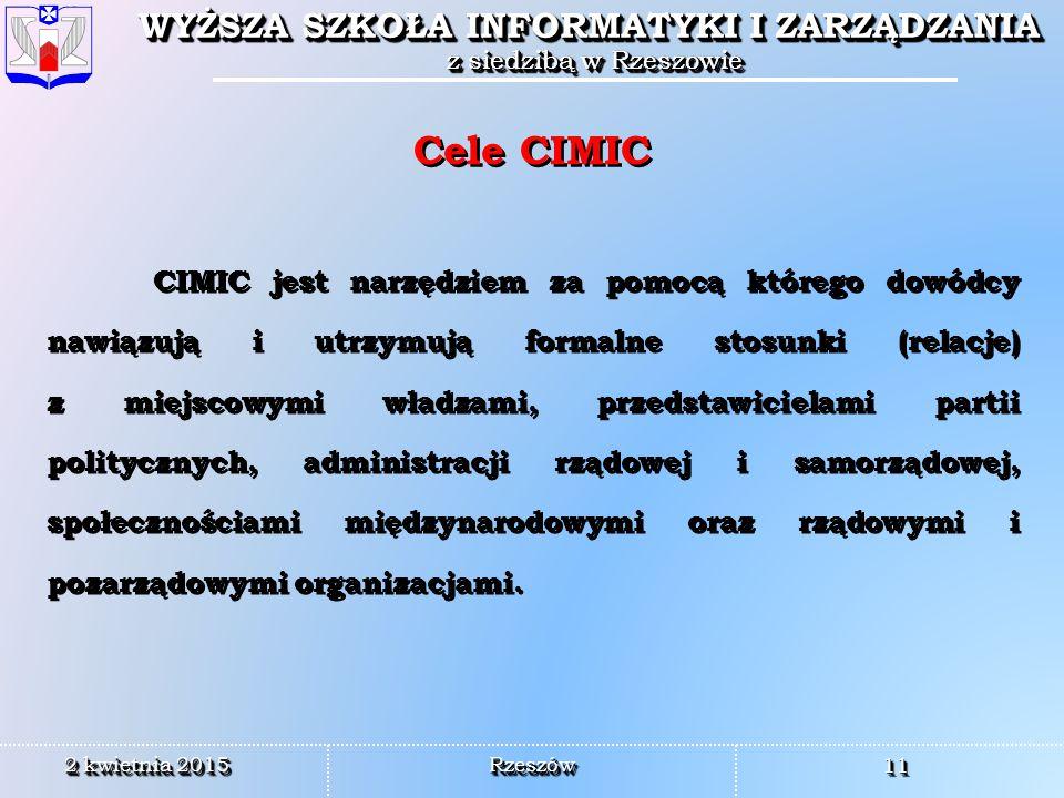 Cele CIMIC