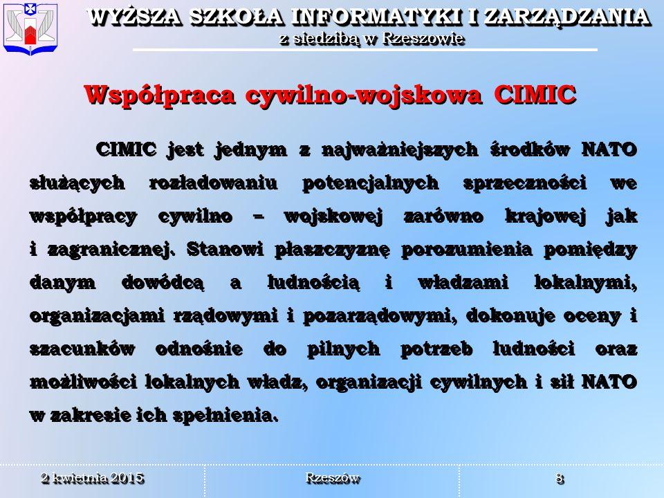 Współpraca cywilno-wojskowa CIMIC