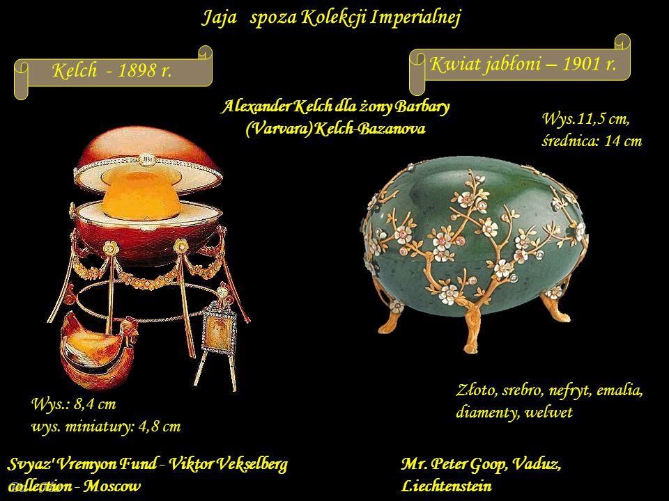 Alexander Kelch dla żony Barbary (Varvara) Kelch-Bazanova