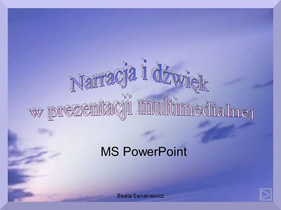 w prezentacji multimedialnej