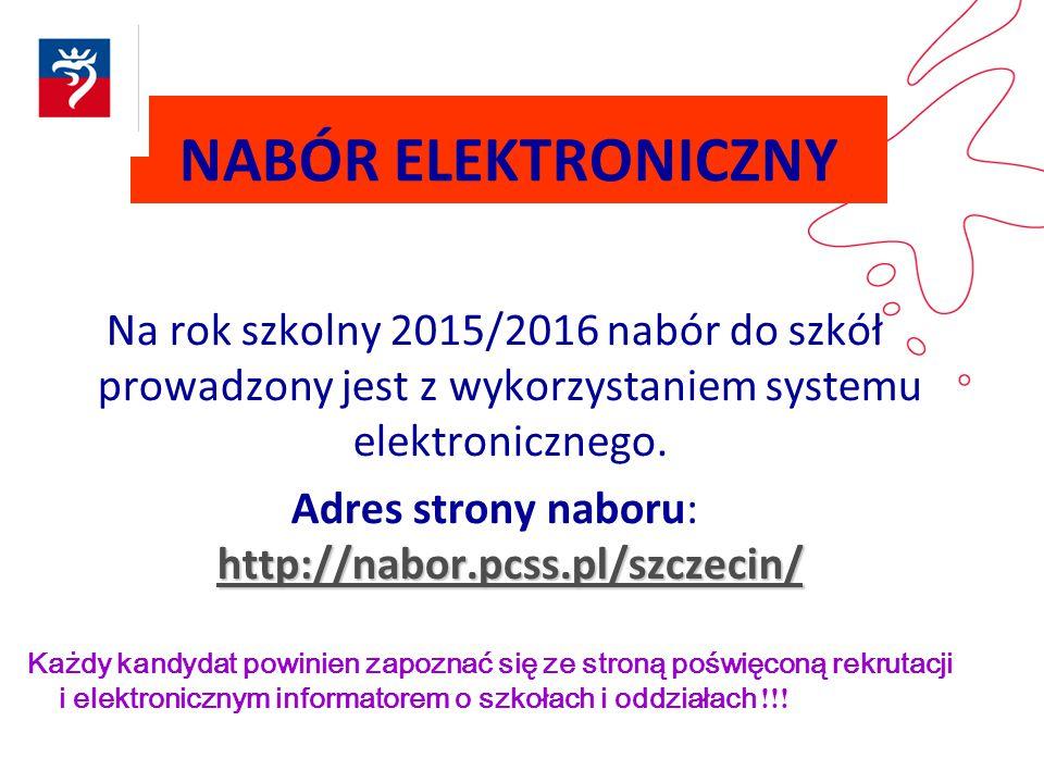 Adres strony naboru: http://nabor.pcss.pl/szczecin/