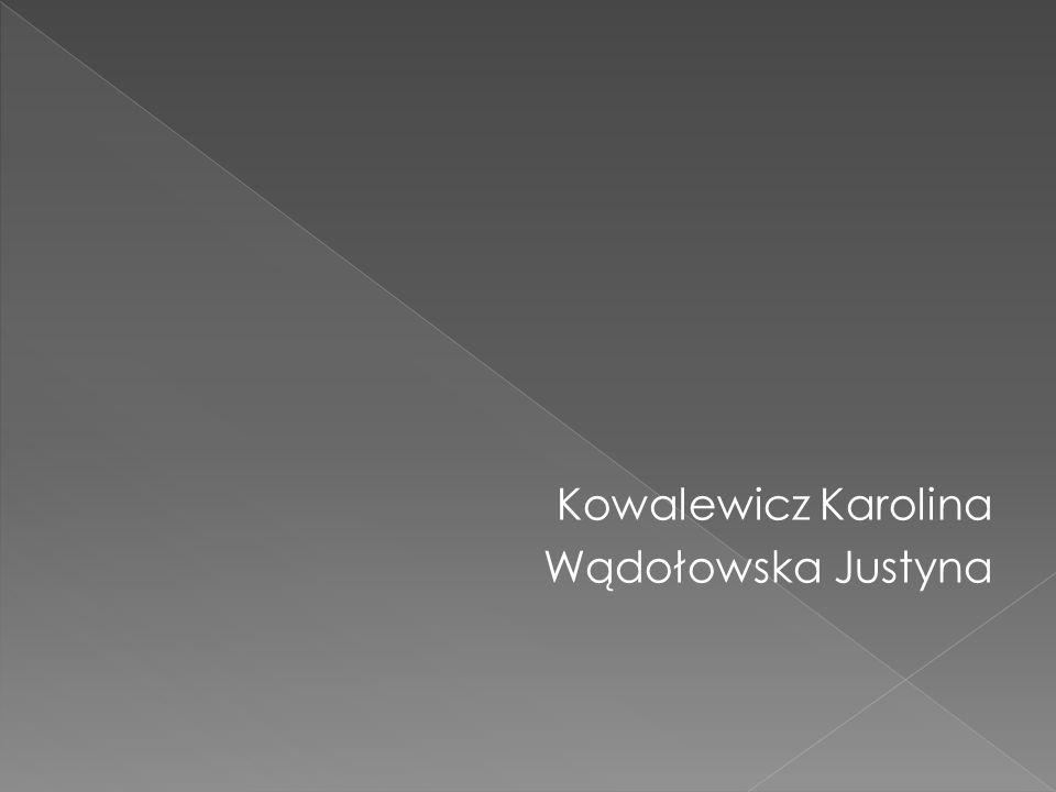 Kowalewicz Karolina Wądołowska Justyna