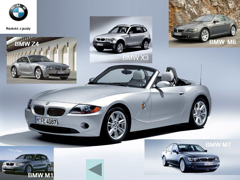 BMW M6 BMW Z4 BMW X3 BMW M7 BMW M1