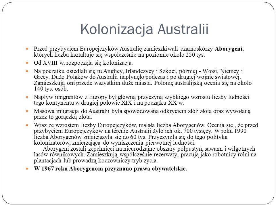 Kolonizacja Australii