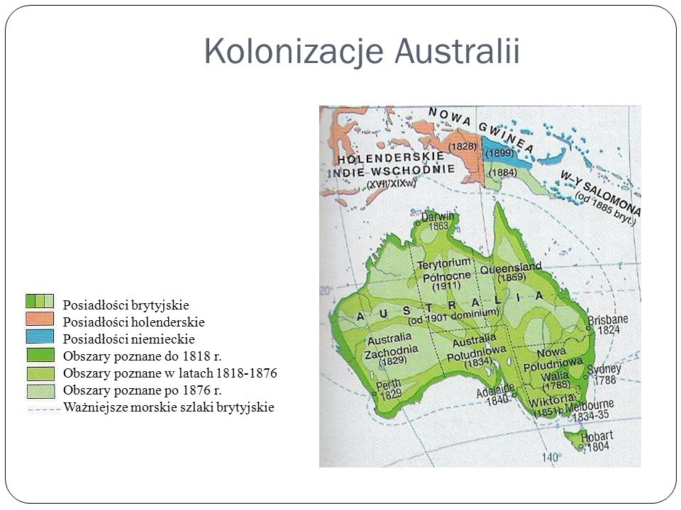 Kolonizacje Australii