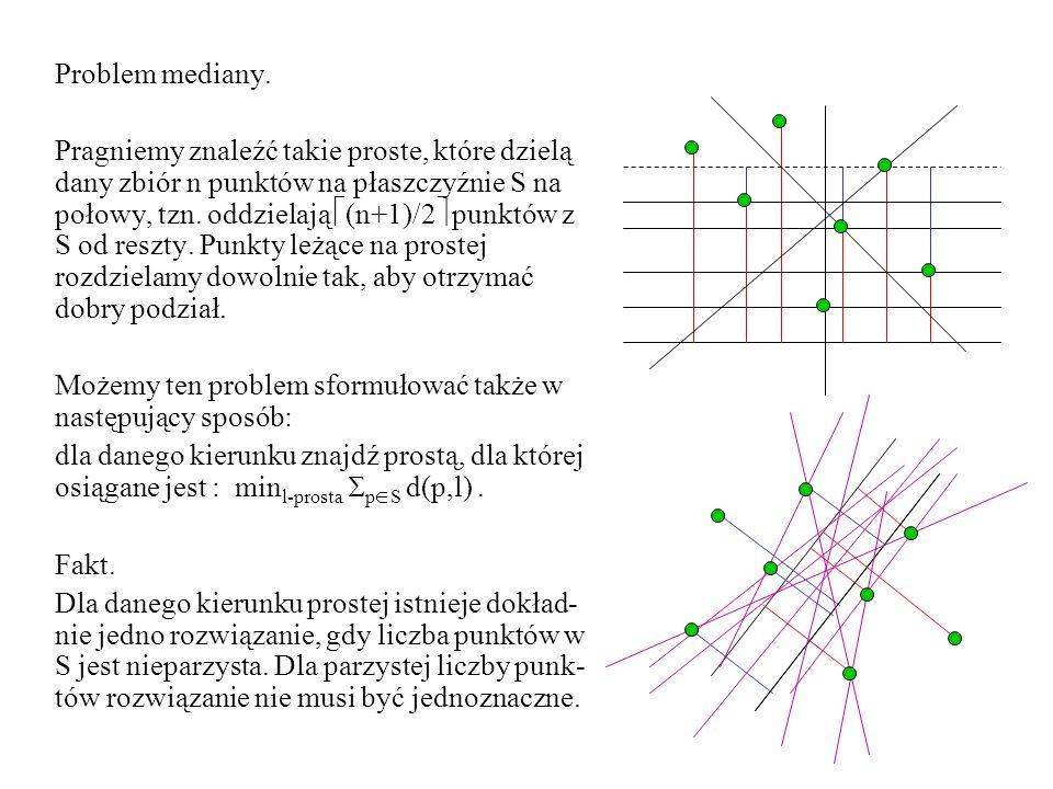 Problem mediany.