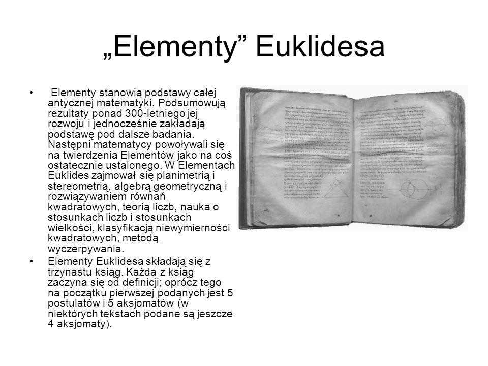 """Elementy Euklidesa"
