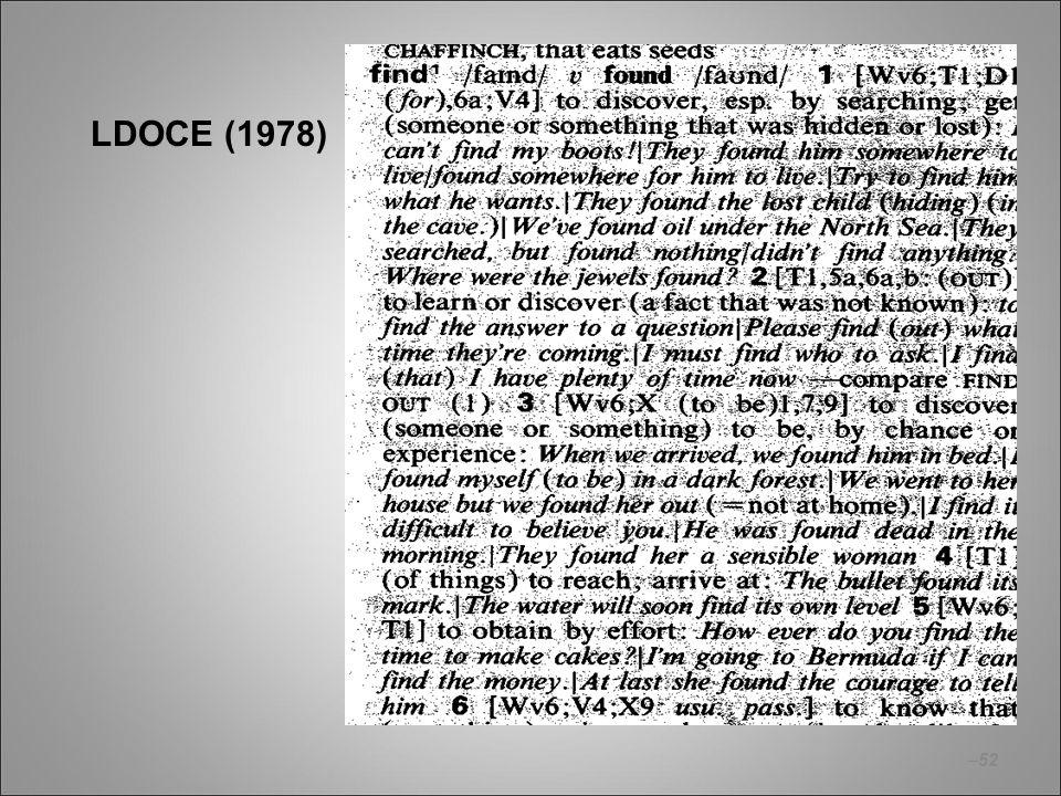 LDOCE (1978)