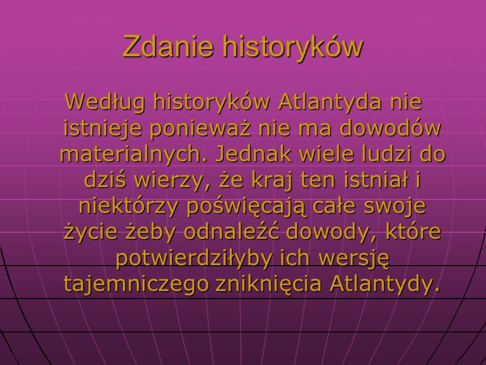 Zdanie historyków