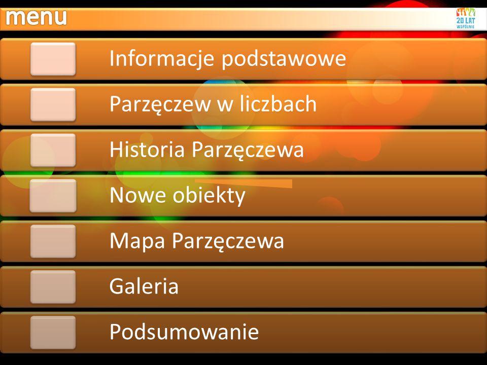 menu Informacje podstawowe Parzęczew w liczbach Historia Parzęczewa