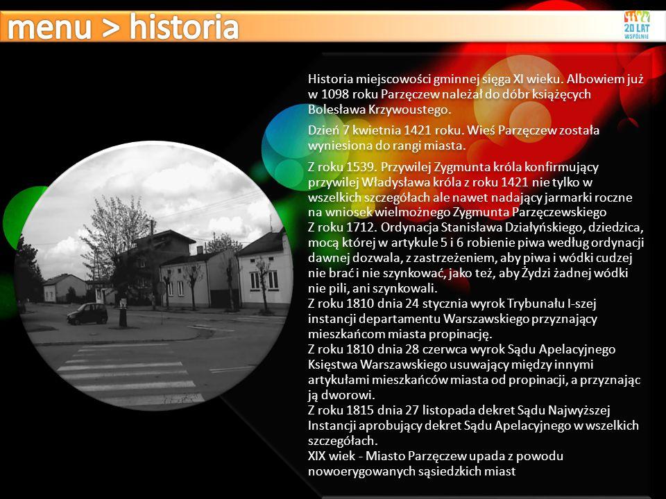 menu > historia