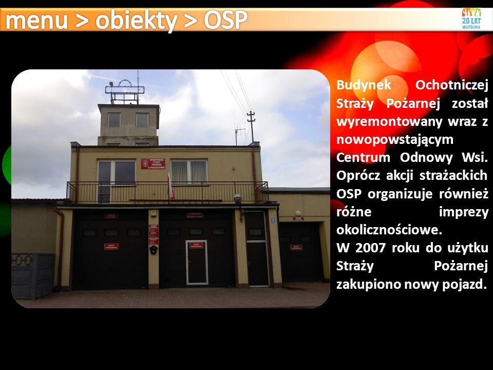 menu > obiekty > OSP
