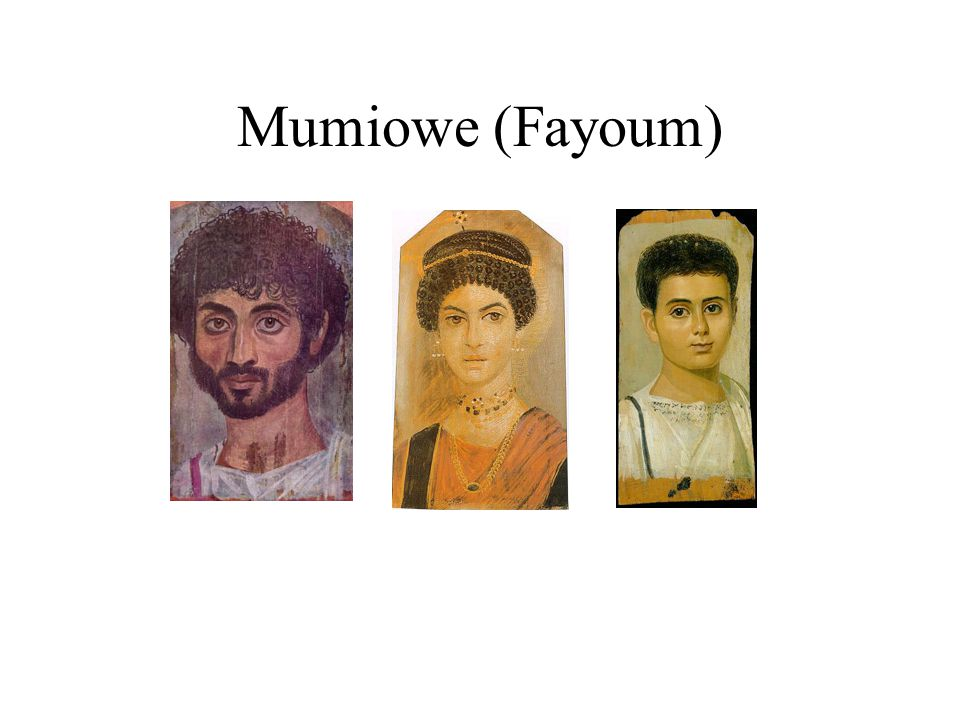 Mumiowe (Fayoum)