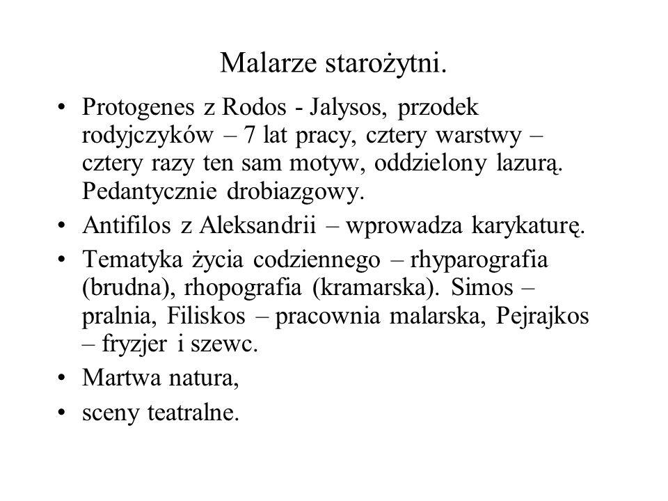 Malarze starożytni.