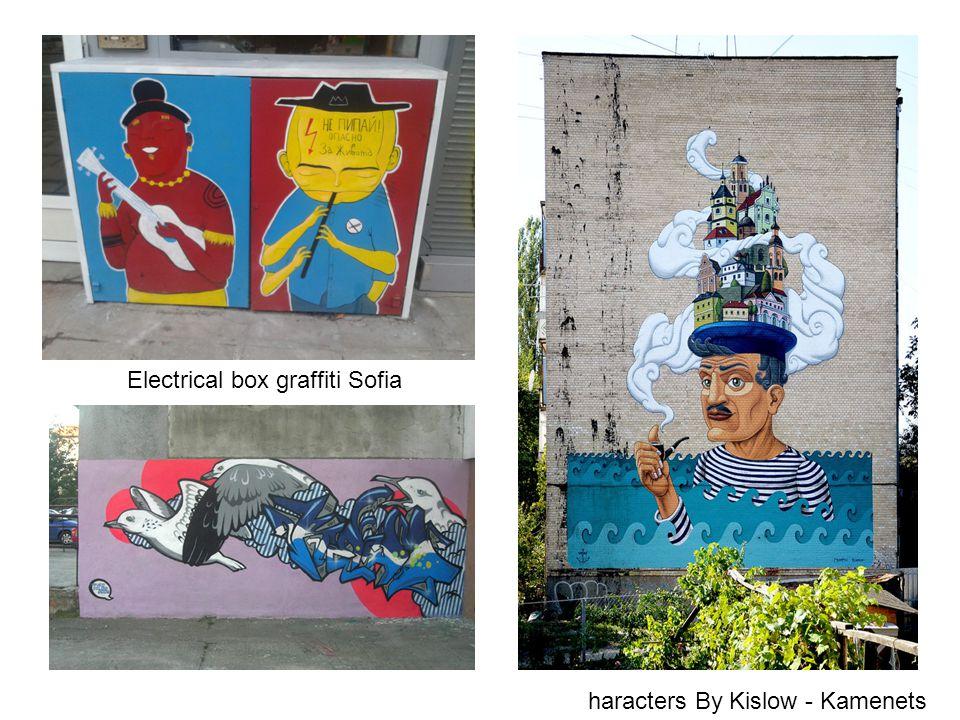 Electrical box graffiti Sofia