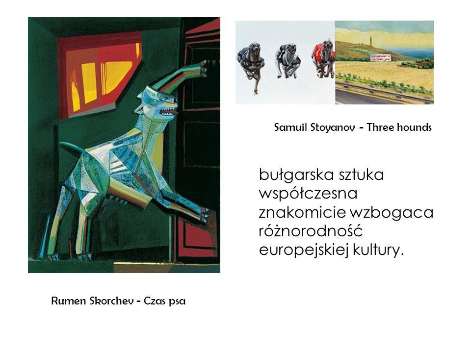 Samuil Stoyanov - Three hounds