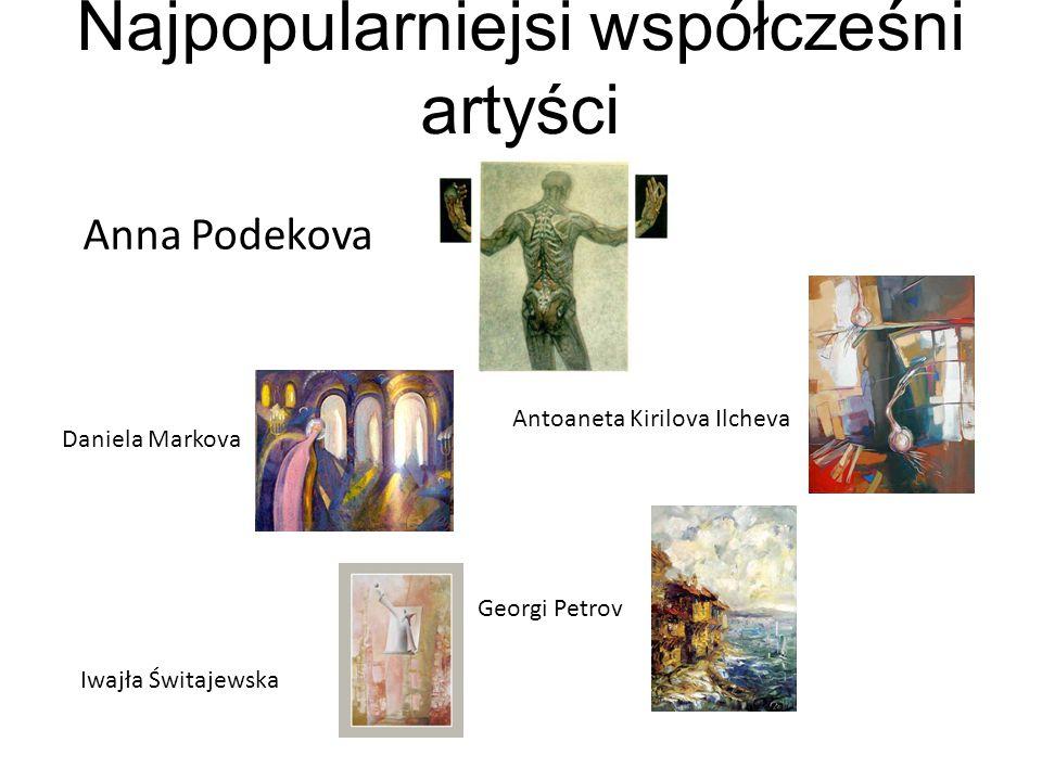Najpopularniejsi współcześni artyści