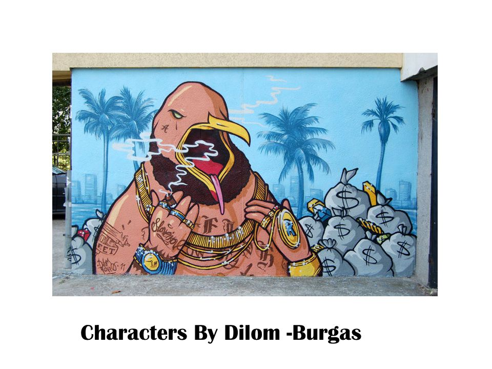 Characters By Dilom -Burgas