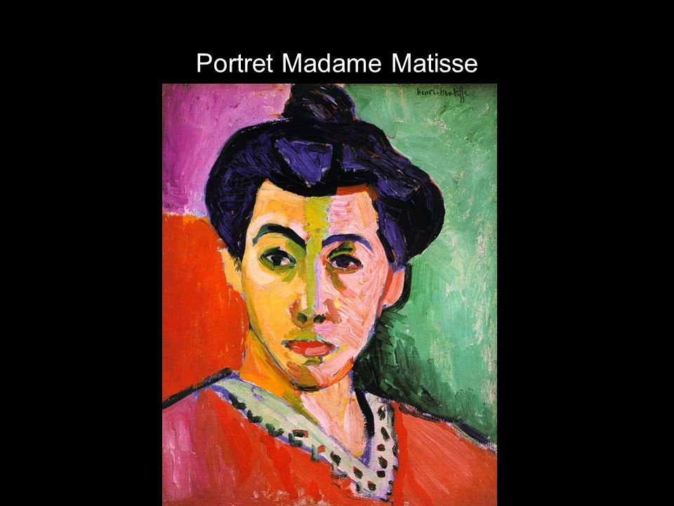 Portret Madame Matisse