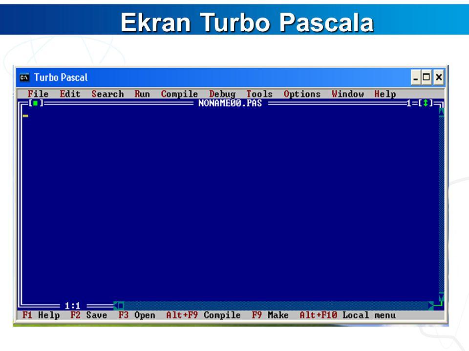 Ekran Turbo Pascala