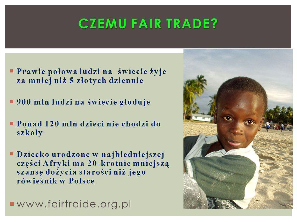 Czemu Fair trade www.fairtraide.org.pl
