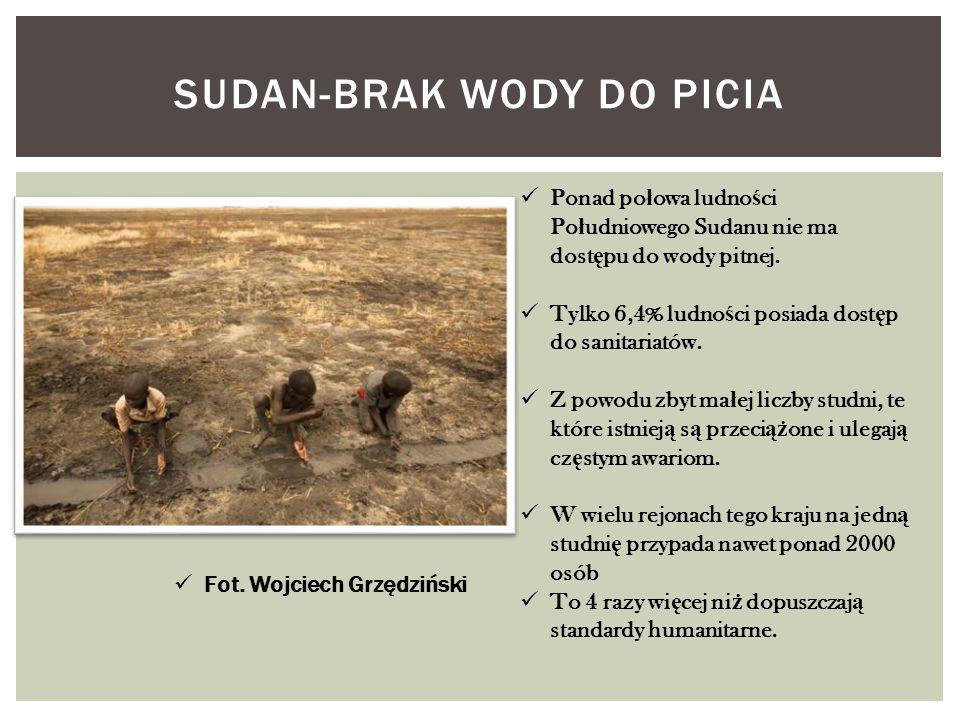 Sudan-brak wody do picia