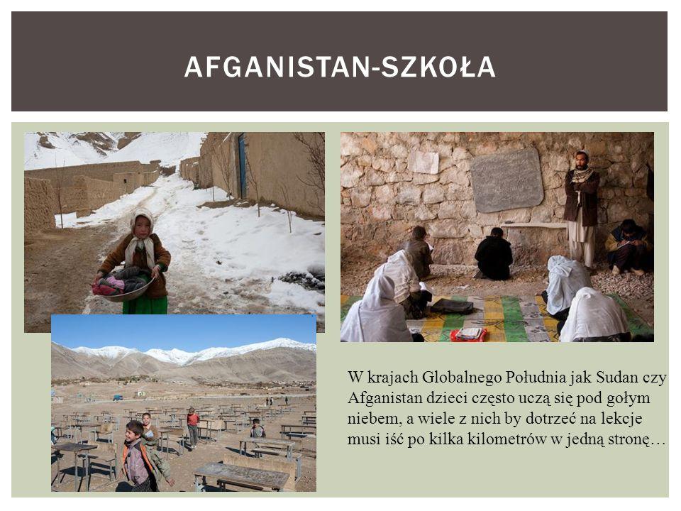 Afganistan-szkoła