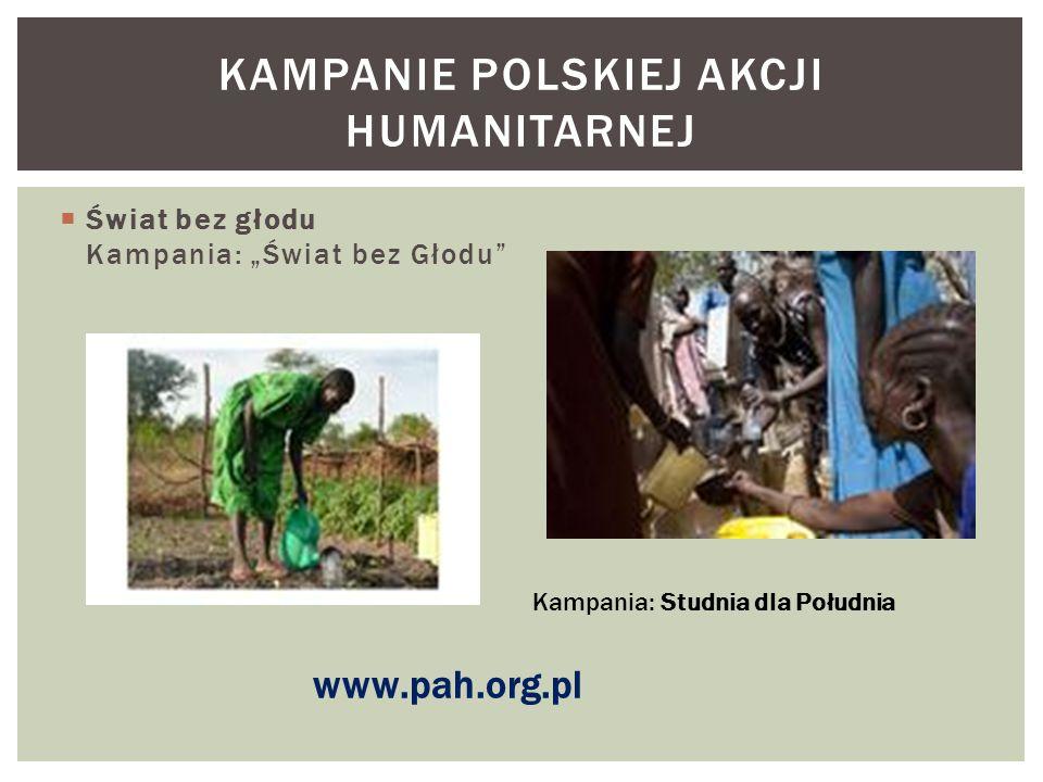 Kampanie Polskiej akcji humanitarnej
