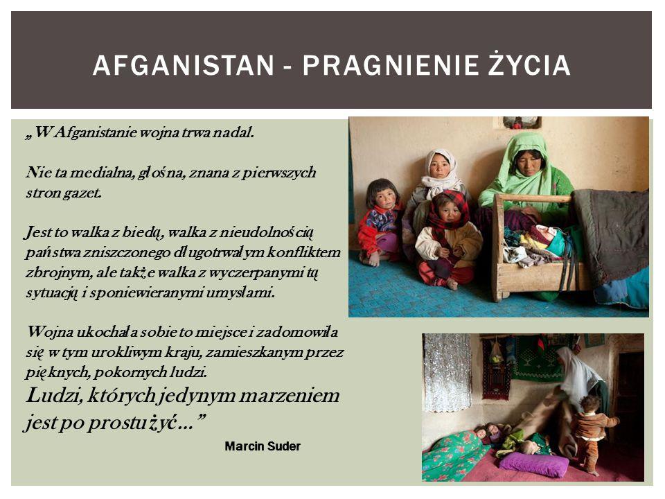afgaNISTAN - PRAGNIENIE ŻYCIA
