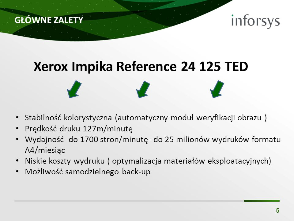 Xerox Impika Reference 24 125 TED